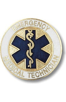 Prestige Medical Emergency Medical Technician - EMT (Star Of Life Design) Pin