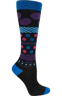 Prestige Medical Women's Long Fashion 15-18 mmHg Compression Socks