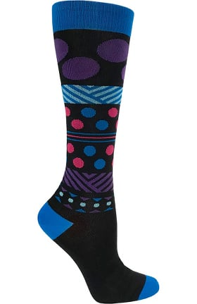 Prestige Medical Women's Long Fashion 15-18 mmHg Compression Socks