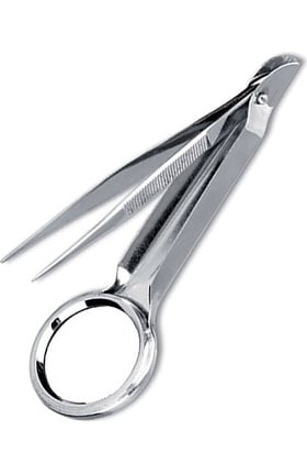 "Prestige Medical 4 1/2"" Magnifying Splinter Forceps"