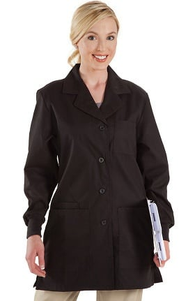 "Prestige Medical Women's Belted Back 32"" Fashion Lab Coat"