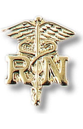 Prestige Medical RN - Registered Nurse On Caduceus Tac Pin