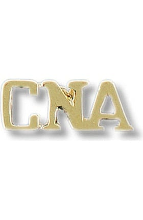 "Prestige Medical ""CNA"" Gold Insignia Tac Pin"