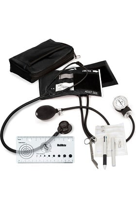 Prestige Medical Aneroid Sphygmomanometer, Clinical Lite Stethoscope & Pocket Organizer Kit