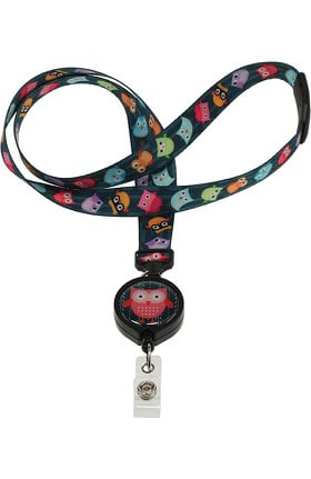 Prestige Medical ID Avenue Ribbon Lanyard With Badge Reel
