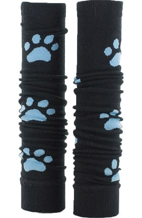 Med Sleeve Women's Black with Blue Paw