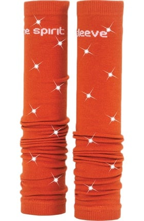 Med Sleeve Women's Burnt Orange with Bling