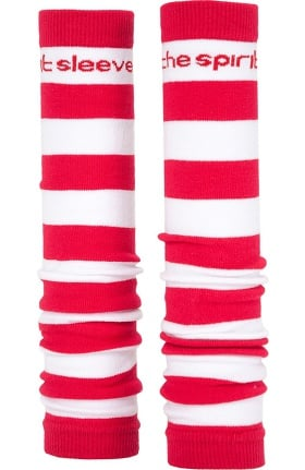 Med Sleeve Women's Red and White Stripes