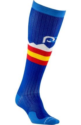 Pro Compression Unisex Marathon Graduated 20-30 mmHg Colorado Peaks Print Compression Sock