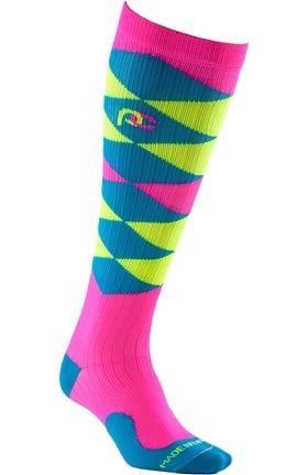 Pro Compression Unisex Marathon Graduated 20-30 mmHg Derby Argyle Print Compression Sock