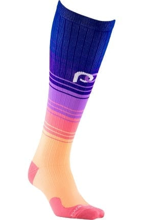 Pro Compression Unisex Marathon Graduated 20-30 mmHg Florida Skies Print Compression Sock