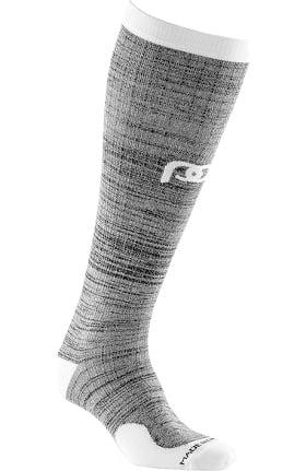 Pro Compression Unisex Marathon Graduated 20-30 mmHg Heather Slate Print Compression Sock
