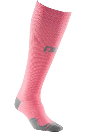 Clearance Pro Compression Unisex Marathon Graduated 20-30 mmHg Just Peachy Compression Sock