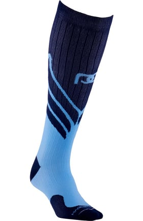 Clearance Pro Compression Unisex Marathon Graduated 20-30 mmHg Navy Wings Print Compression Sock