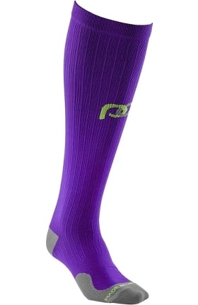 Clearance Pro Compression Unisex Marathon Graduated 20-30 mmHg Purple Compression Sock