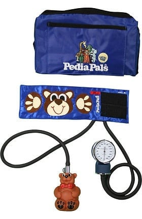 Clearance Pedia Pals Infant Size Benjamin Bear Blood Pressure Kit with Carrying Case