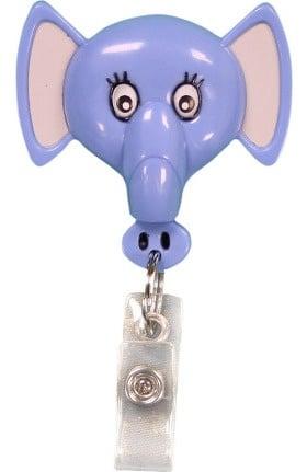 Pedia Pals Elephant Retractamals Retractable ID Badge Holder