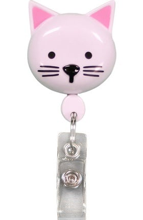 Clearance Pedia Pals Kitty Retractamals Retractable ID Badge Holder