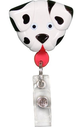 Clearance Pedia Pals Dalmatian Retractamals Retractable ID Badge Holder