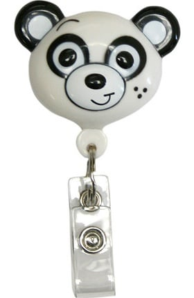 Clearance Pedia Pals Panda Retractamals Retractable ID Badge Holder