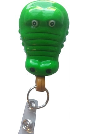 Clearance Pedia Pals Gator Rectractamals Retractable Id Badge Holder