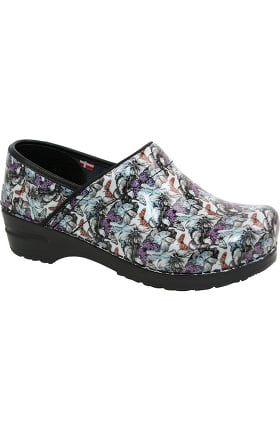 Smart Step by Sanita Women's Amelia Print Clog