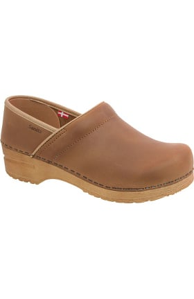 Professional by Sanita Women's Pro Oiled Nubuck Clog