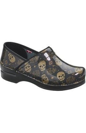Clearance Professional by Sanita Women's Leoness Print Clog