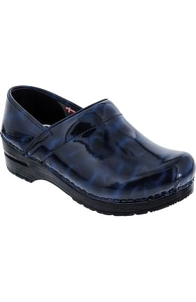 Professional by Sanita Women's Satin Print Clog