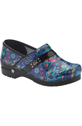 koi by Sanita Women's Secret Garden Print Clog