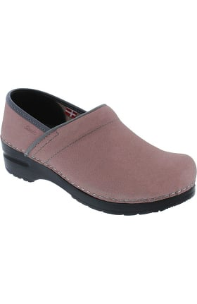 Professional by Sanita Women's Pro Textured Oil Solid Clog