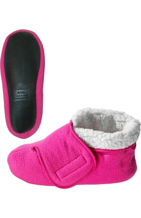 Silvert's Unisex Soft Fleece Bootie Slipper