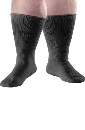 Clearance Silvert's Unisex Oversized Diabetic Solid Sock