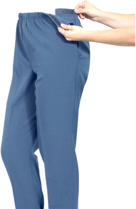 Silvert's Women's Adjustable Side Gabardine Solid Pant