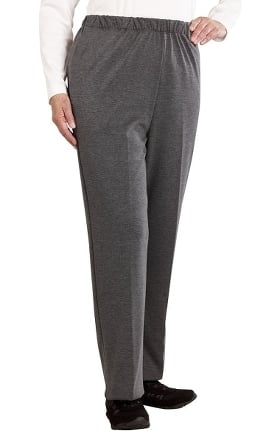 Silvert's Women's Open Back Knit Solid Pant