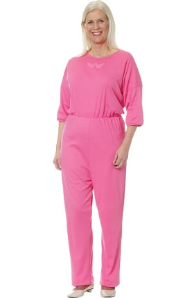 Silvert's Women's Anti-Strip Solid Jumpsuit