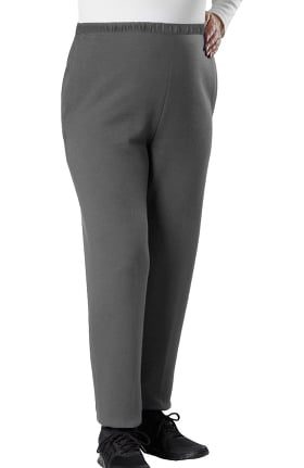Silvert's Women's Open Back Fleece Solid Pant
