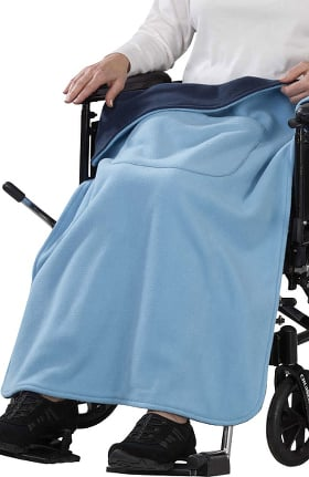Silvert's Adaptive Fleece Wheelchair Blanket Cover
