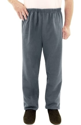 Silvert's Men's Open Back Solid Sweat Pant