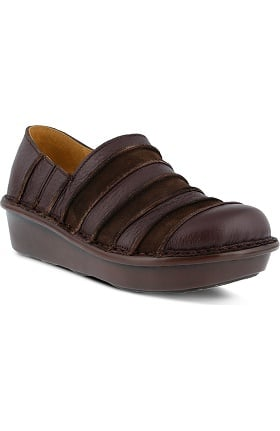 Spring Step Women's Firefly Leather Slip-On Shoe
