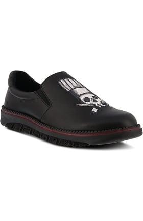 Spring Step Men's Power Black Knives Print Shoe