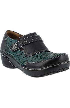 Spring Step Women's Rokas Button Strap Clog