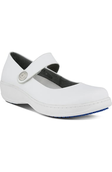 Spring Step Professional Women's Wisteria Mary Jane Shoe White
