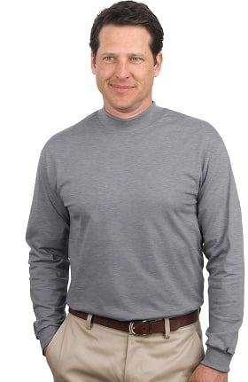 Port Authority Unisex Long Sleeve Mock Turtleneck T-Shirt