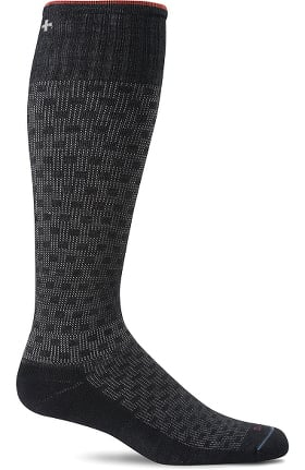 Sockwell Men's Shadow Box 15-20 mmHg Graduated Compression Sock