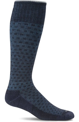 Clearance Sockwell Men's Shadow Box 15-20 mmHg Graduated Compression Sock