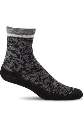 Sockwell Women's Planter Cushion 20-30 mmHg Compression Crew Sock