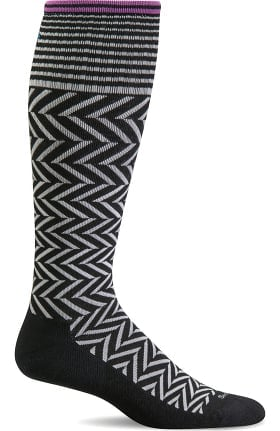 Clearance Sockwell Women's Chevron 15-20 mmHg Graduated Compression Sock