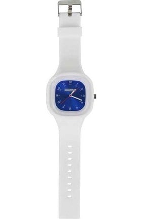 Think Medical Womens Cobalt Blue Metallic Face Watch