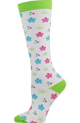 Think Medical Women's Floral Print 10-14 mmHg Compression Sock